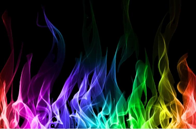 Rainbow Gay Pride Logo for Hot Spot Radio free internet music radio
